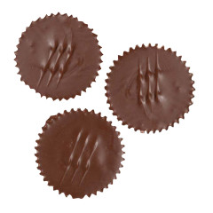 NASSAU CANDY MILK CHOCOLATE PEANUT BUTTER CUP O' CHOCOLATE