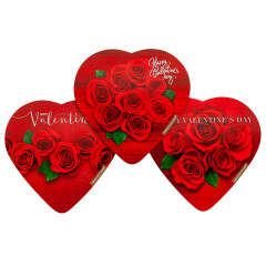 ELMER'S ASSORTED CHOCOLATES 3.2 OZ HEART BOX
