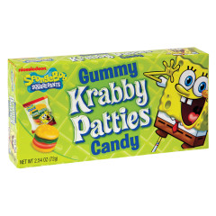 GUMMY KRABBY PATTIES 2.54 OZ THEATER BOX