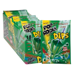 POP ROCKS SOUR APPLE DIPS POPPING CANDY