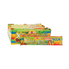 AIRHEADS XTREMES SOUR RAINBOW BERRY BELTS 2 OZ