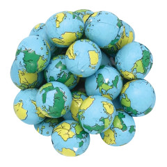 EARTH BALLS MILK CHOCOLATE FOILED