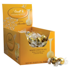 LINDT LINDOR TRUFFLE WHITE CHOCOLATE