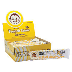 DOSCHER'S BANANA FRENCH CHEW TAFFY 1.62 OZ