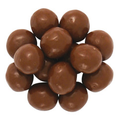 NASSAU CANDY MALTITOL MILK CHOCOLATE MALT BALLS