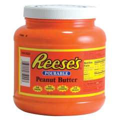 REESE'S POURABLE PEANUT BUTTER TUB