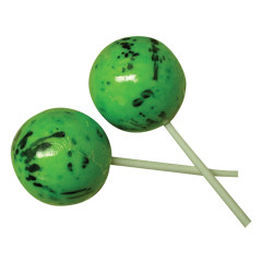 CLEVER CANDY SOUR JAWBREAKER ON A STICK 2.25 INCHES