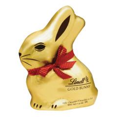 LINDT MILK CHOCOLATE GOLD FOILED BUNNY 7 OZ
