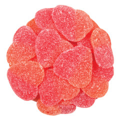 CLEVER CANDY SOUR PEACHY HEARTS