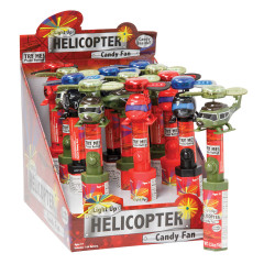 LIGHT UP HELICOPTER CANDY FAN 0.38 OZ