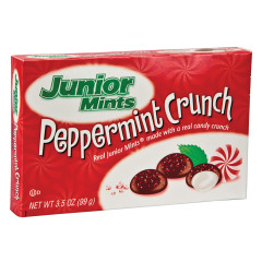 JUNIOR MINTS PEPPERMINT CRUNCH 3.5 OZ THEATER BOX