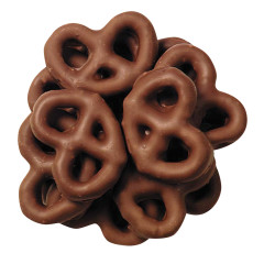 ASHER'S MILK CHOCOLATE MINI PRETZELS