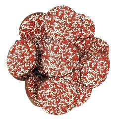 NASSAU CANDY MILK CHOCOLATE VALENTINE'S DAY NONPAREILS