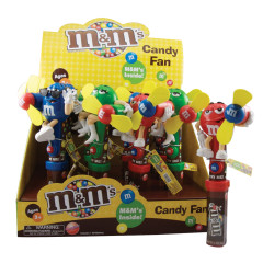 M&M CANDY FAN 0.48 OZ