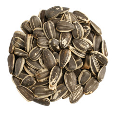 SUNFLOWER SEEDS IN SHELL ROASTED WITH SALT