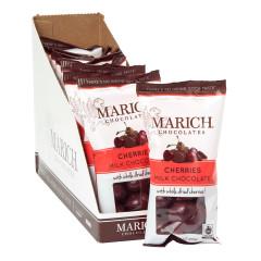 MARICH MILK CHOCOLATE CHERRIES 2.3 OZ