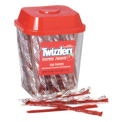 TWIZZLERS WRAPPED