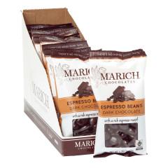 MARICH DARK CHOCOLATE ESPRESSO BEANS 1.76 OZ