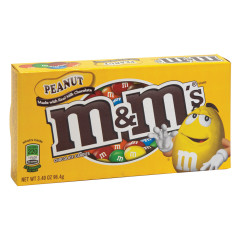 M&M'S PEANUT 3.1 OZ THEATER BOX