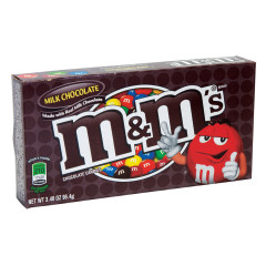 M&M'S MILK CHOCOLATE 3.1 OZ THEATER BOX
