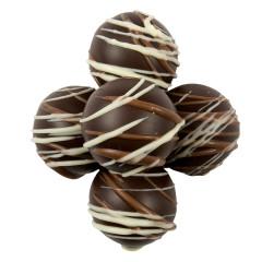 BIRNN BITE SIZE DARK CHOCOLATE CARAMEL TRUFFLES