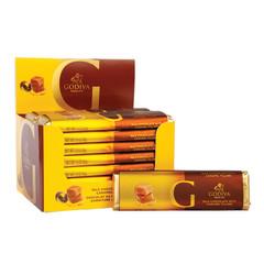 GODIVA MILK CHOCOLATE FILLED WITH CARAMEL 1.5 OZ BAR