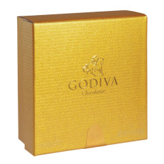 GODIVA 4 PC GOLD BALLOTIN 1.6 OZ BOX
