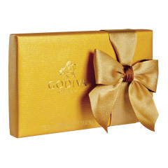 GODIVA 8 PC GOLD BALLOTIN 3.4 OZ BOX