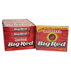 BIG RED SLIM PACK GUM