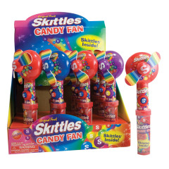 SKITTLES CANDY FAN 0.54 OZ