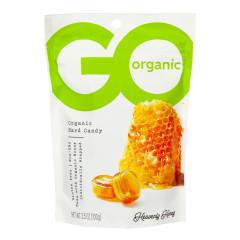 GO ORGANIC HONEY HARD CANDY 3.5 OZ POUCH