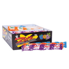 ZOTZ ASSORTED STRINGS BLUE RASPBERRY, ORANGE, GRAPE