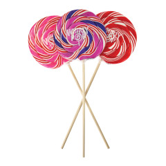 WHIRLY POP ASSORTED COLORS 5.25 INCH 6 OZ
