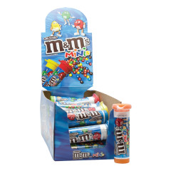 M&M'S MINI MILK CHOCOLATE M&M'S 1.08 OZ TUBE