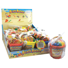 BEACH BUCKET TOYS AND TREATS 1.48 OZ