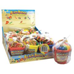 BEACH BUCKET TOYS AND TREATS 1.48 OZ