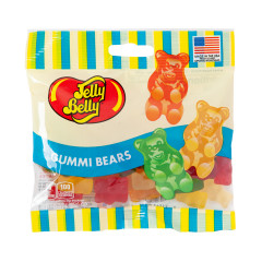 JELLY BELLY GUMMI BEARS 3 OZ BAG
