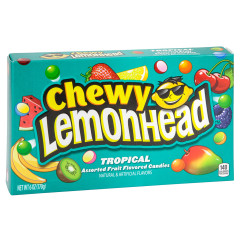 CHEWY LEMONHEAD TROPICAL 5 OZ THEATER BOX