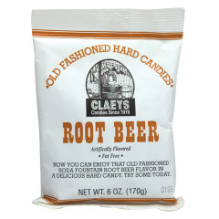 CLAEY'S ROOT BEER DROPS 6 OZ BAG