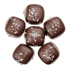 NASSAU CANDY DARK CHOCOLATE SEA SALT CARAMELS