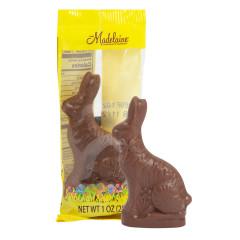 MADELAINE MILK CHOCOLATE RABBIT 1 OZ