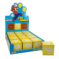SUPER MARIO COIN CANDIES 1.2 OZ TIN