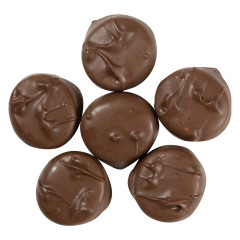 ASHER'S SUGAR FREE MILK CHOCOLATE PEPPERMINT PATTY