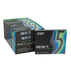 5 REACT MINT GUM