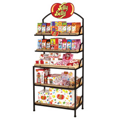 JELLY BELLY HUTCH DISPLAY RACK
