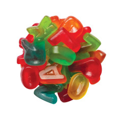 CLEVER CANDY GUMMY MINI ALPHABET LETTERS