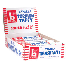 BONOMO TURKISH VANILLA TAFFY 1.5 OZ