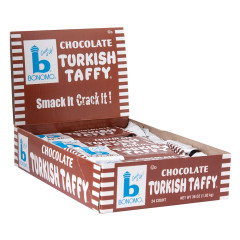 BONOMO TURKISH TAFFY CHOCOLATE 1.5 OZ