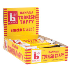 BONOMO TURKISH TAFFY BANANA 1.5 OZ