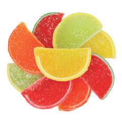 NASSAU CANDY ASSORTED FRUIT SLICES